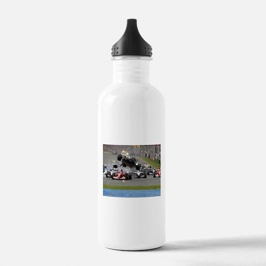 F1 Crash Water Bottle
