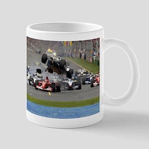 F1 Crash Mug