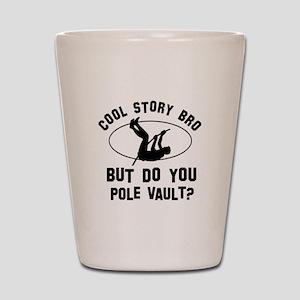 Pole Vault designs Shot Glass