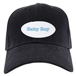 Baby Boy Black Cap with Patch