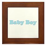 Baby Boy Framed Tile