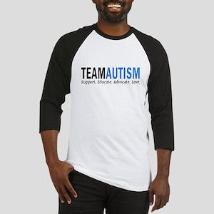 Team Autism (Blue) Baseball Jersey
