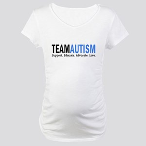 Team Autism (Blue) Maternity T-Shirt
