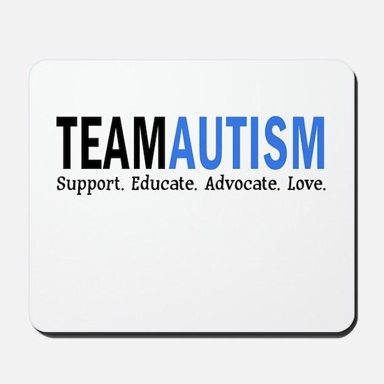 Team Autism (Blue) Mousepad