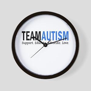 Team Autism (Blue) Wall Clock