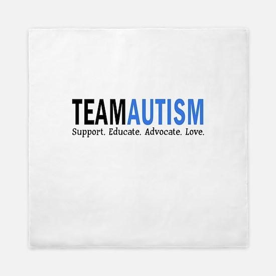 Team Autism (Blue) Queen Duvet