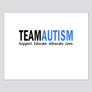 Team Autism (Blue) Small Poster