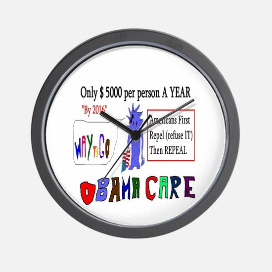 Obamacare Repeal It Wall Clock