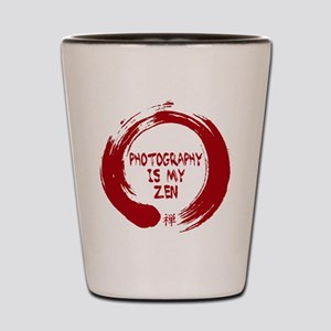 Photography is my Zen-1-red Shot Glass