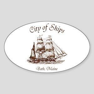 City of Ships Sticker