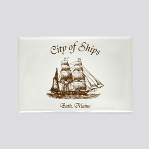 City of Ships Rectangle Magnet
