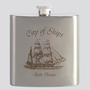 City of Ships Flask