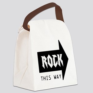 ROCK THIS WAY Canvas Lunch Bag
