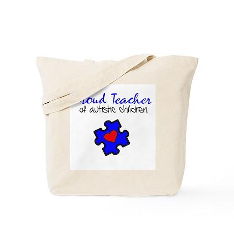 Proud Teacher of Autistic Children Tote Bag