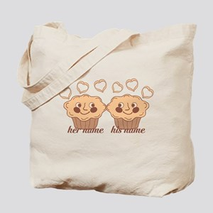 Personalized Cuddle Muffins Tote Bag