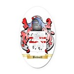 Bicknell Oval Car Magnet