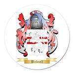 Bicknell Round Car Magnet