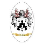 Bickley Sticker (Oval 50 pk)