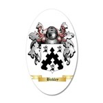 Bickley 35x21 Oval Wall Decal