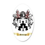 Bickleigh Oval Car Magnet