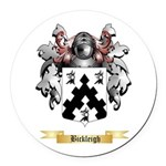 Bickleigh Round Car Magnet
