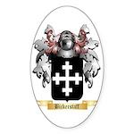Bickerstaff Sticker (Oval 50 pk)
