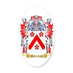 Biberman Oval Car Magnet