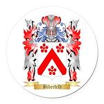 Biberfeld Round Car Magnet