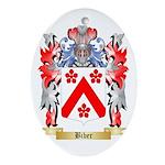 Biber Ornament (Oval)