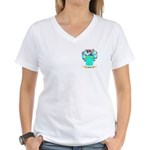 Bibbye Women's V-Neck T-Shirt