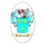 Bibbey Sticker (Oval)