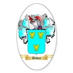 Bibbey Sticker (Oval 50 pk)