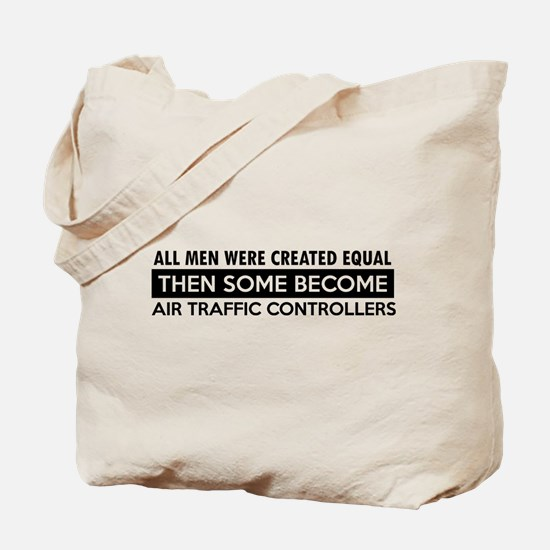 Air Traffic Controllers Designs Tote Bag