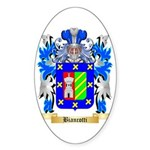 Biancotti Sticker (Oval 10 pk)