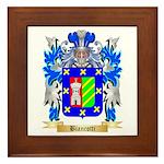 Biancotti Framed Tile