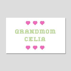 Grandmom Celia 20x12 Wall Peel