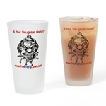 Daughter Home Drinking Glass