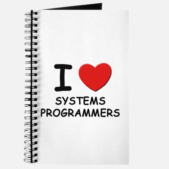 I love systems programmers Journal