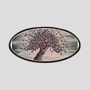 Namaste Love Tree Art Patch