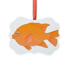 Garibaldi Damselfish fish Ornament