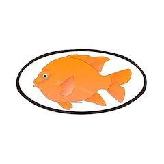 Garibaldi Damselfish fish Patches