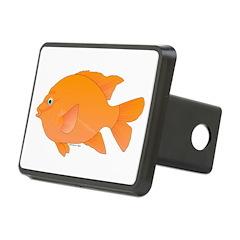 Garibaldi Damselfish fish Hitch Cover