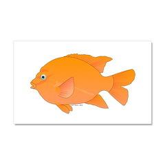 Garibaldi Damselfish fish Car Magnet 20 x 12
