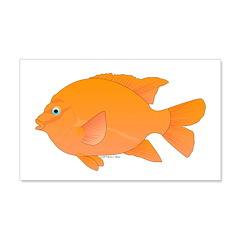 Garibaldi Damselfish fish Wall Decal