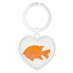 Garibaldi Damselfish fish Keychains