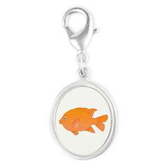 Garibaldi Damselfish fish Charms