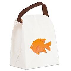 Garibaldi Damselfish fish Canvas Lunch Bag