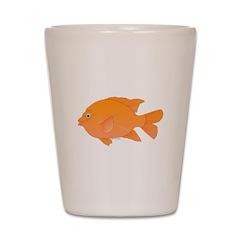Garibaldi Damselfish fish Shot Glass