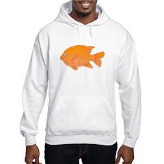 Garibaldi Damselfish fish Hoodie