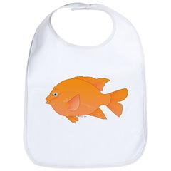 Garibaldi Damselfish fish Bib